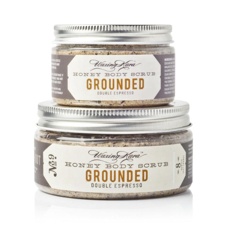 Honey Grounded Coffee Scrub