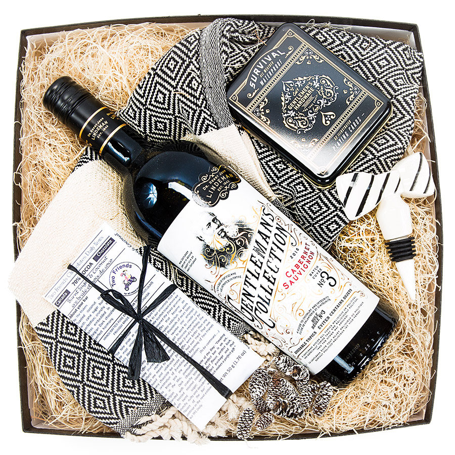 Wine Gift Box for Him Manbox