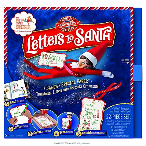 Letters to the North Pole Elf on the Shelf