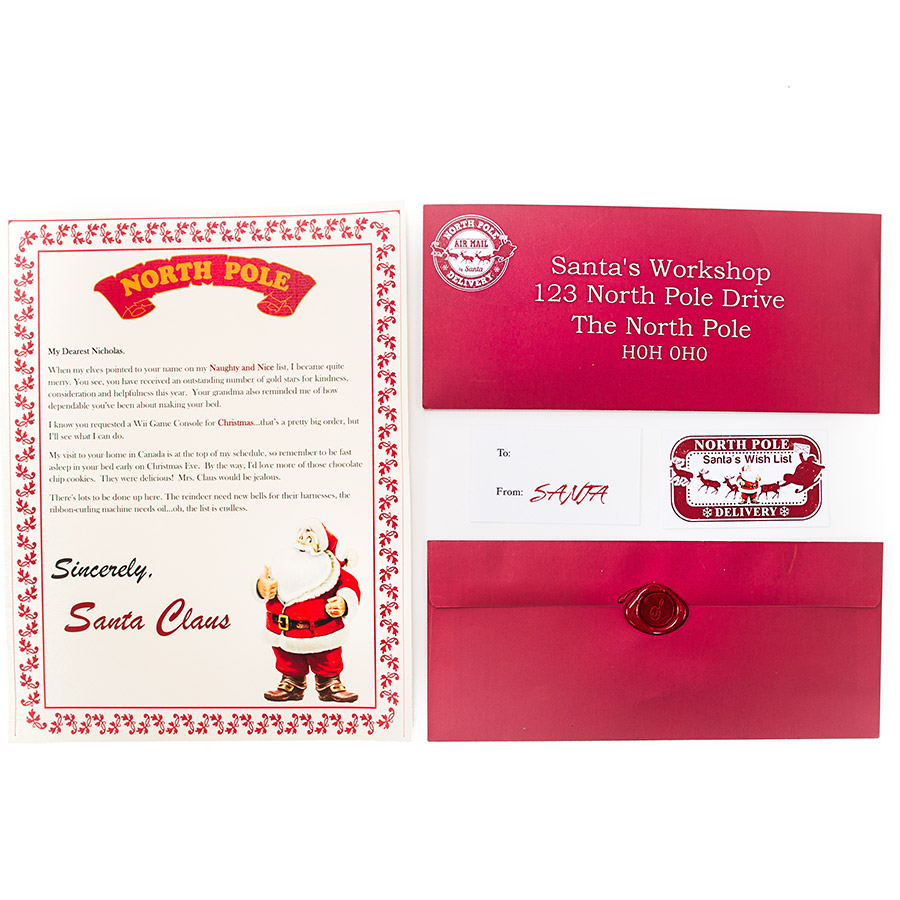 Letters From the North Pole-Santas Wish List