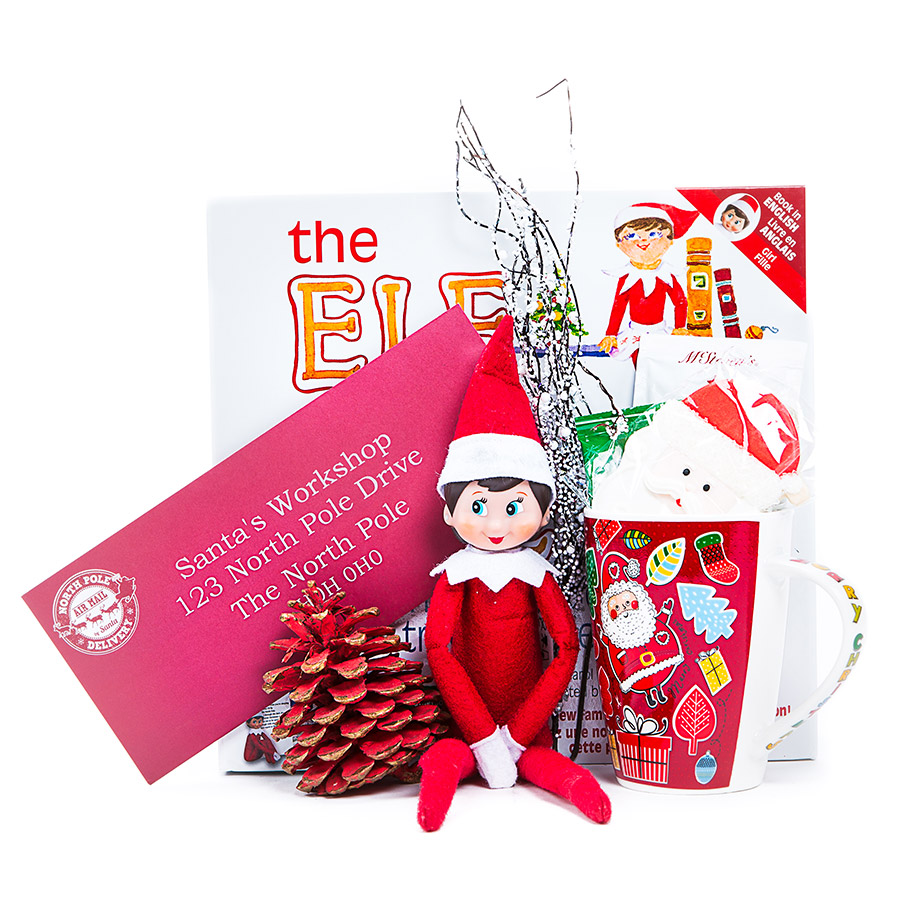 Santas Wish List-Elf on the Shelf Gift Set