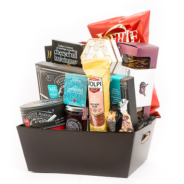 Charcuterie board gift basket negle Image collections