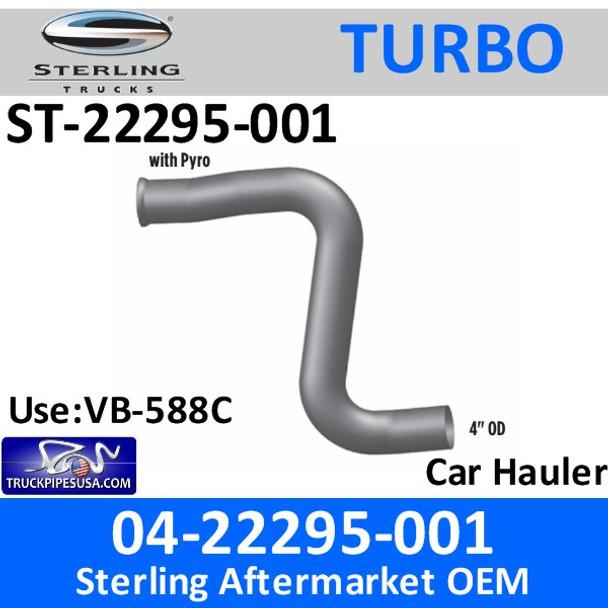 04-22295-001 Sterling Car Hauler Turbo Pyro Pipe ST-22295-001