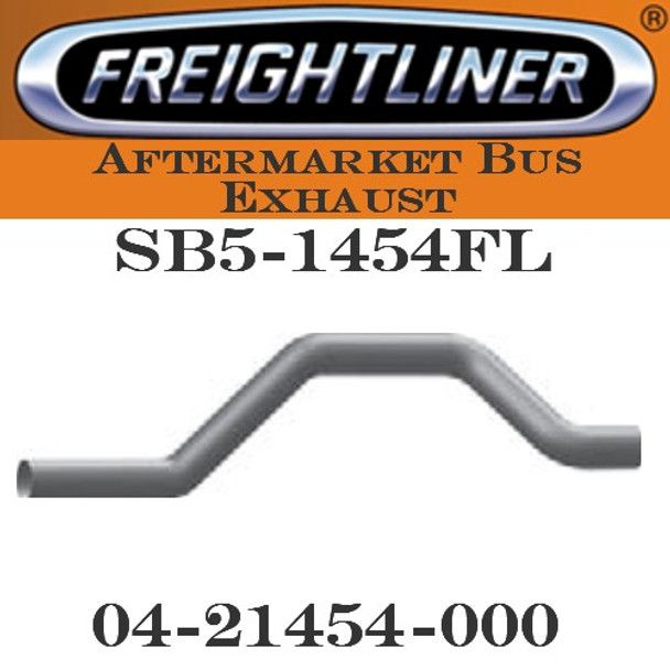 "04-21454-000 4"" Freightliner Bus Exhaust 4 Bend OD-OD ALZ"