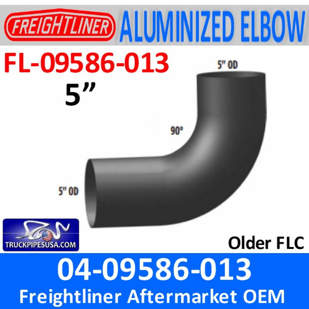 04-09586-013 Freightliner ALZ 90 Exhaust Elbow FL-09586-013