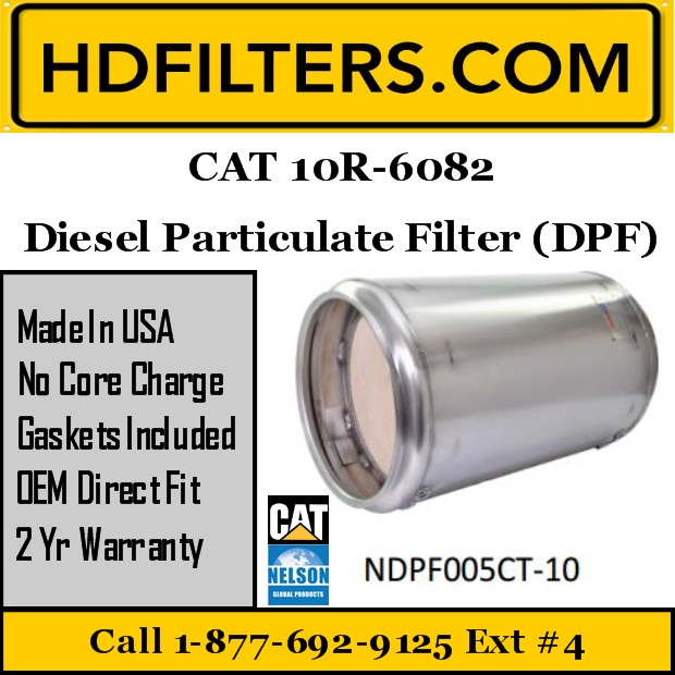 10R-6082 CAT C7 DPF Diesel Particulate Filter