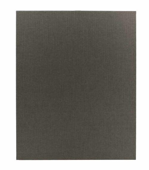 "8 1/2"" x 11"" Insert, 1-Panel Menu Holder Gray"