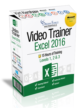 Excel 2016 Training Videos Level 1 - Download