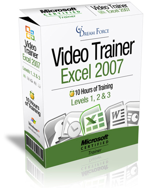 Excel 2007 Training Videos