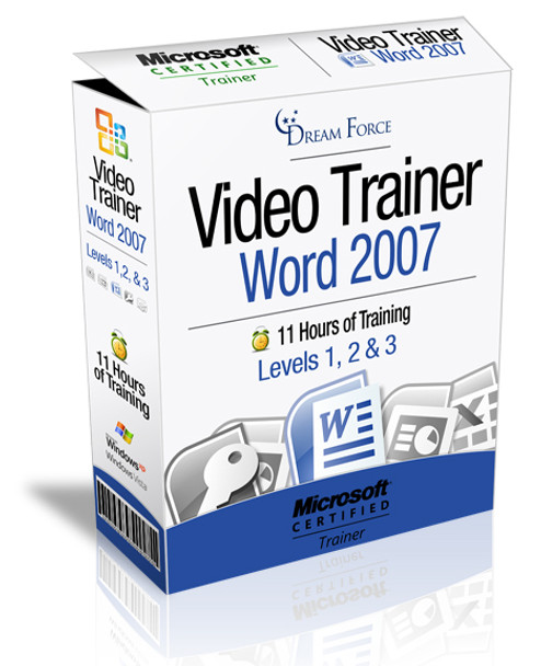 Word 2007 Training Videos Level 1 - Download