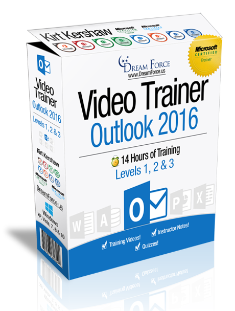 Microsoft Outlook 2016 Training Videos Level 3 - Download