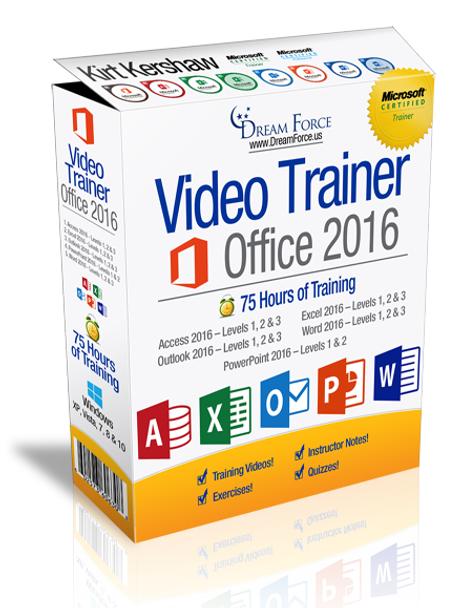 Microsoft Office 2016 Training Videos