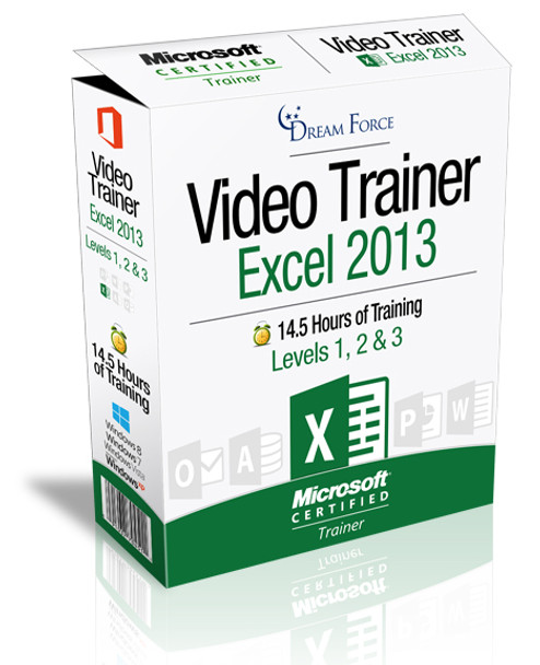 Excel 2013 Training Videos Level 1 - Download