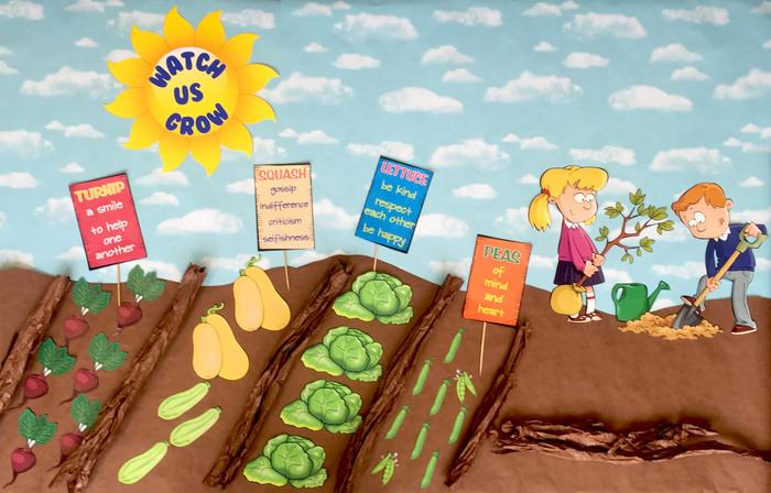 Watch Us Grow Bulletin Board