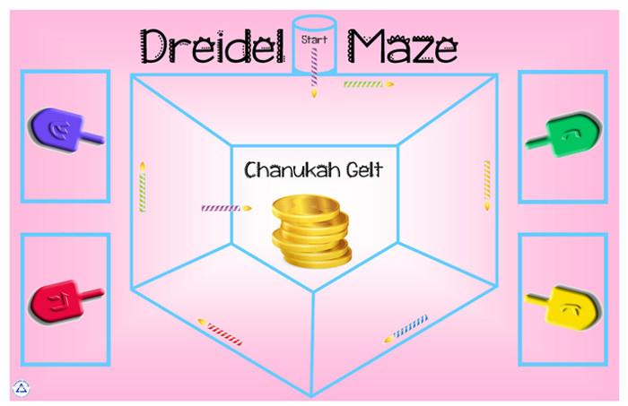 Dreidel Maze