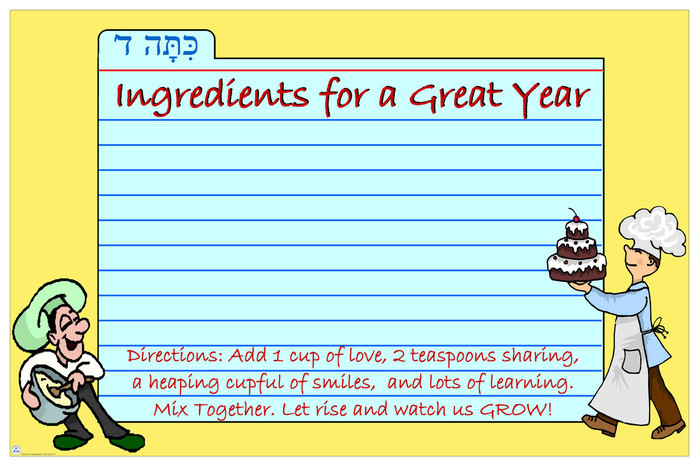 Ingredients for a Great Year