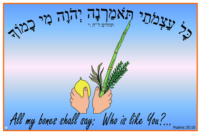 Sukkot - All My Bones Sukkot Poster