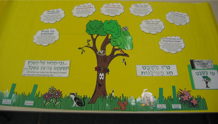 Tu BiSh'vat Bulletin Board