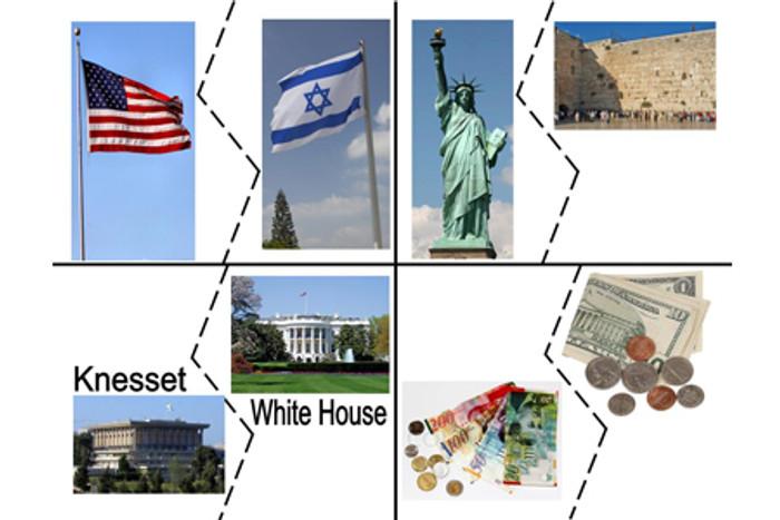 We Love America & Israel Puzzles