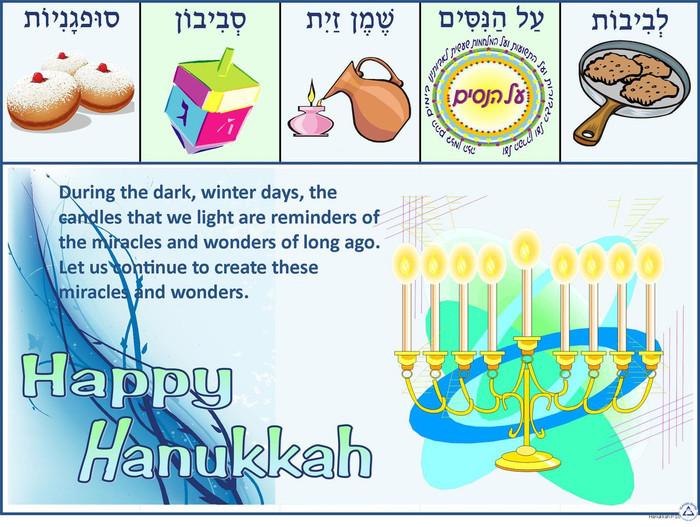 Hanukkah Quote Poster