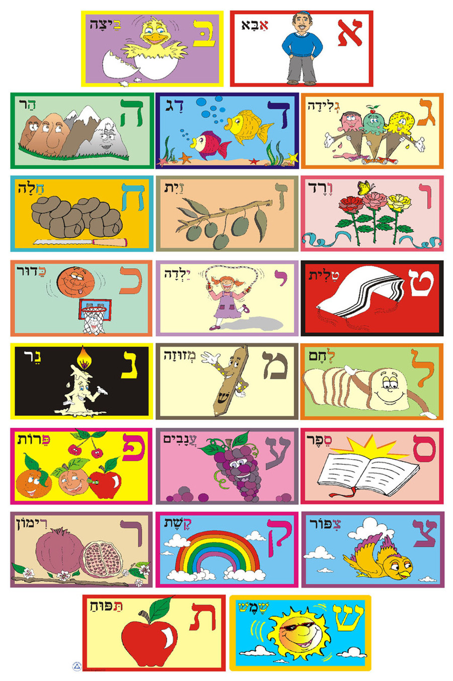Alef Bet in Pictures Poster