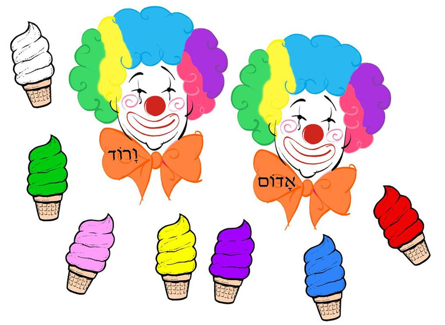 Cool the Clown Matching Game