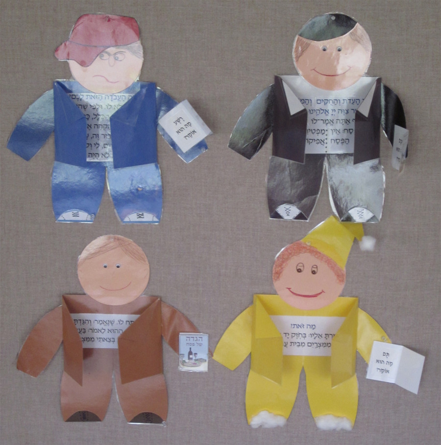 Four Sons Puppets