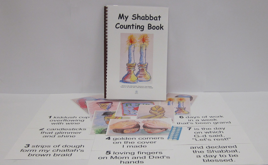 My Shabbat Counting Book
