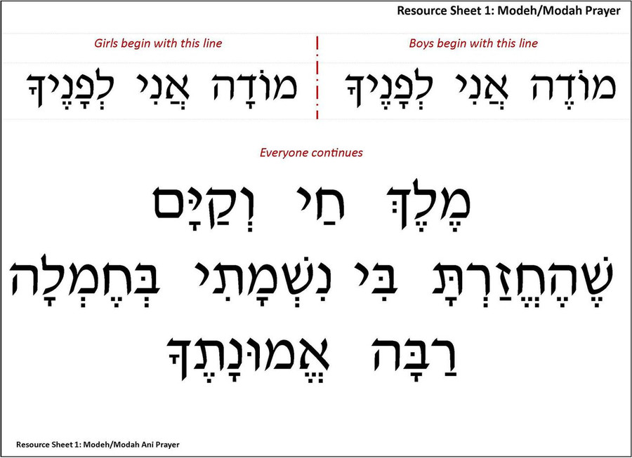 Alef Bet Review Poster Set