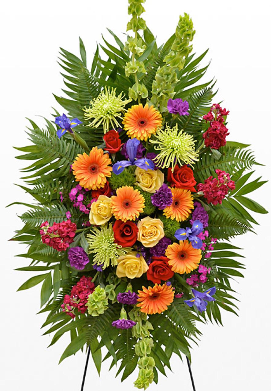 Jewel Standing Spray Northern Blvd Florist Queens