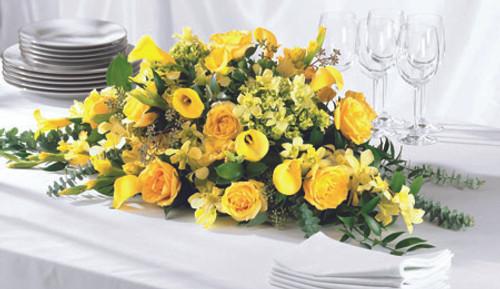 Golden Garden Centerpiece
