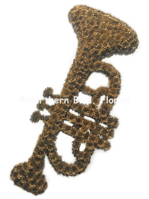 Trumpet Funeral Flowers