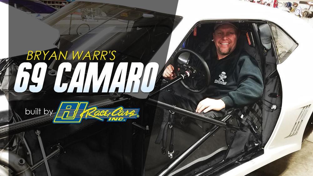 Bryan Warr's 1969 Camaro built by RJ Race Cars