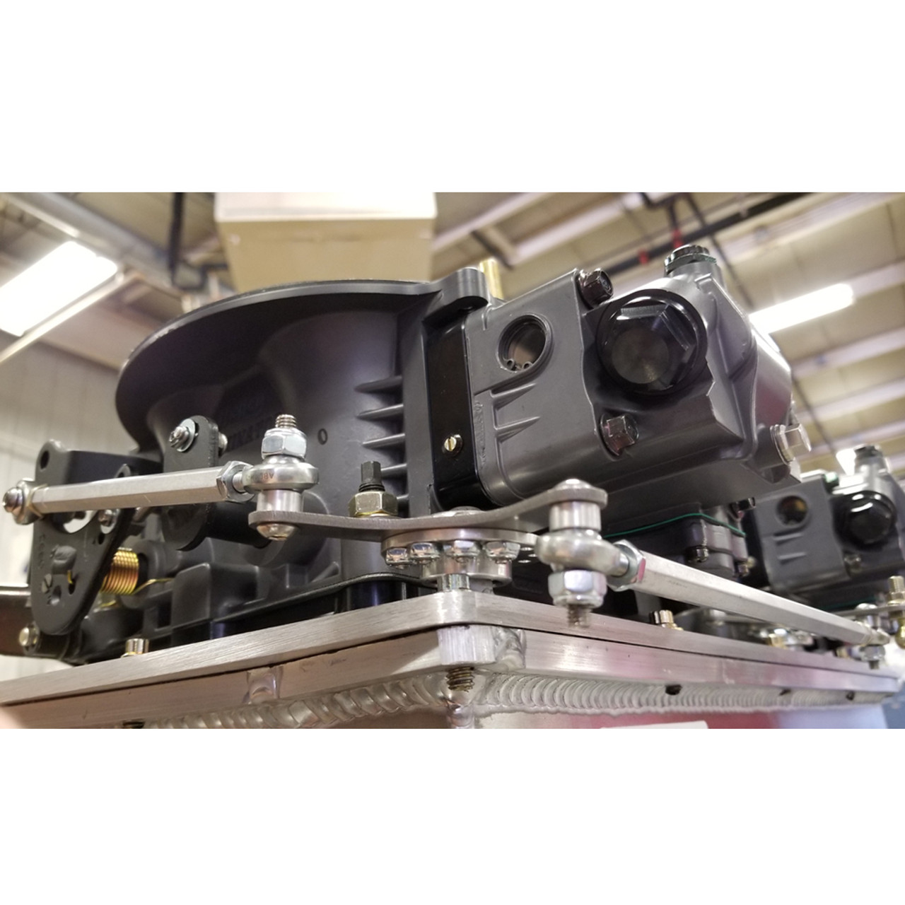 Bell Crank Linkage : Single bell crank throttle linkage kit quarter max