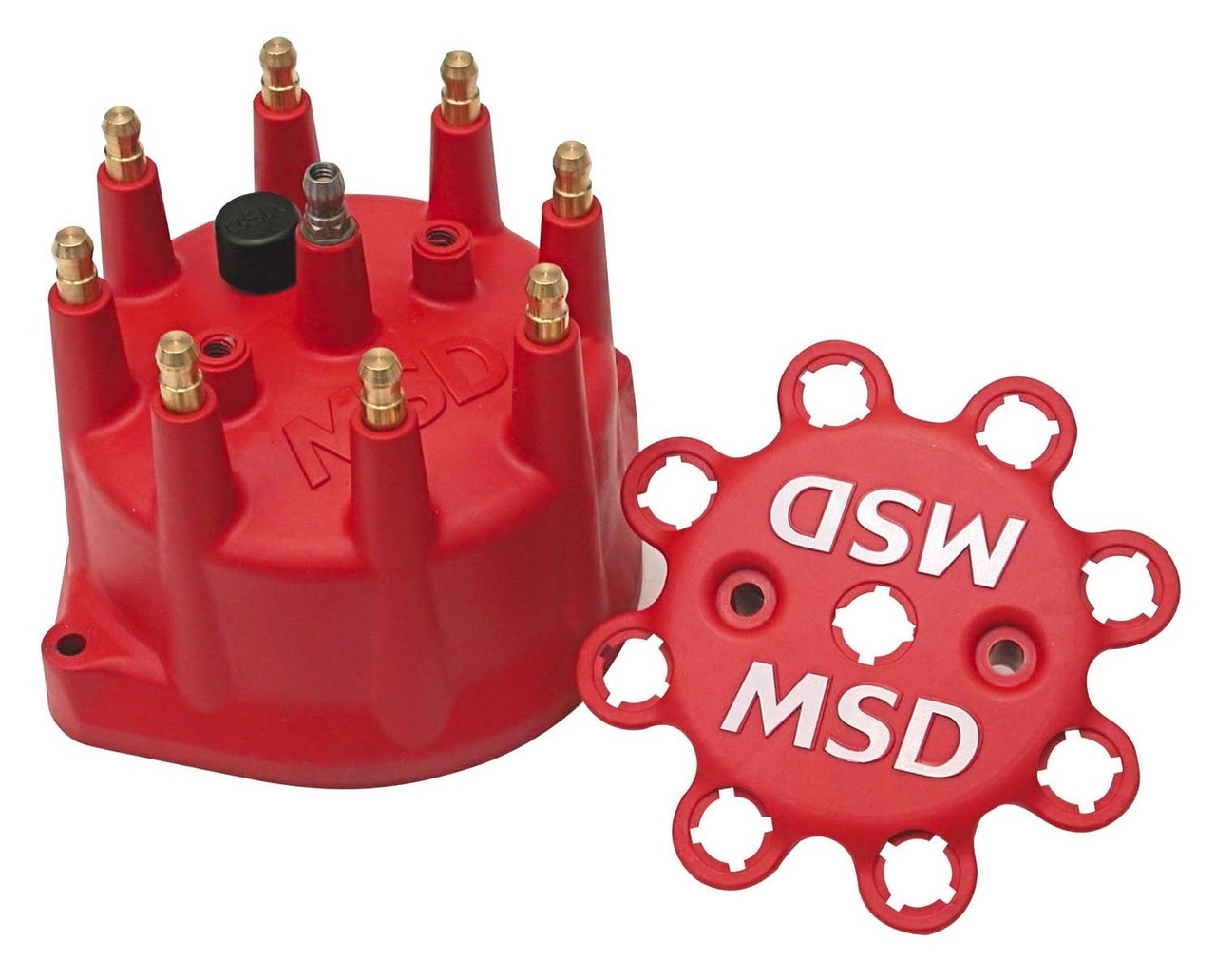 MSD Red Distributor Cap