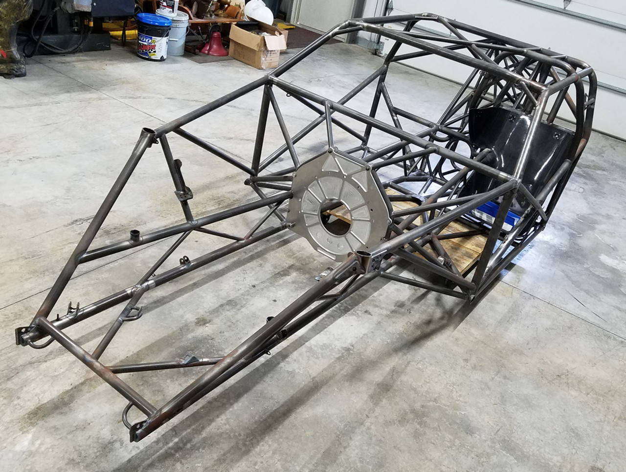 RJ Race Cars 1969 Camaro Welded Pro Mod Chassis - Quarter-Max ...