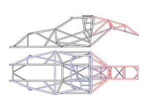 Unwelded Drag Race Chassis Kits