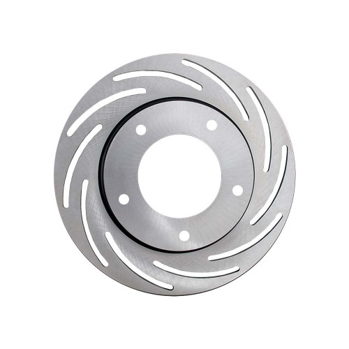 """Strange Engineering B2782 Lightweight 10"""" Slotted Steel Rotor, Fits Spindle Mount Wheels Requiring 1"""" Offset - RH Side"""