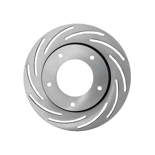 """Strange Engineering B2783 Lightweight 10"""" Slotted Steel Rotor, Fits Spindle Mount Wheels Requiring 1"""" Offset - LH Side"""