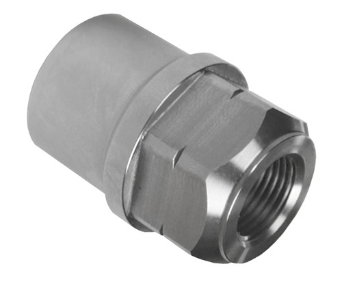 """3/4""""-16 LH x 1-1/2"""" .095"""" Tube Adapter, Hex Style"""