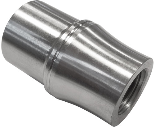 """5/8""""-18 LH x 1-1/8"""" .058"""" Tube Adapter, Long Style"""