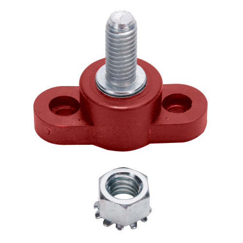 Quarter-Max Battery Red Insulated Stud