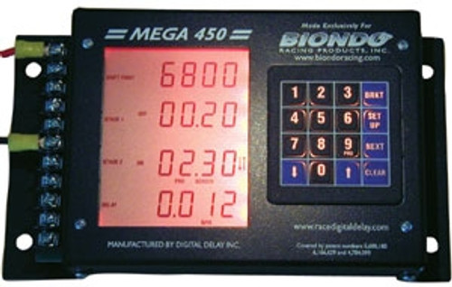 Biondo 450 Mega 450 Delay Box | Quarter-Max