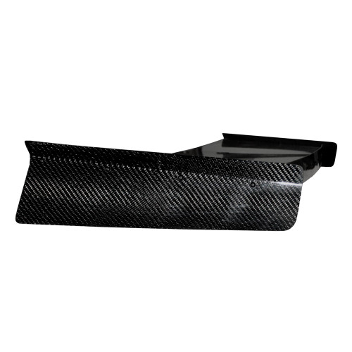 Quarter-Max 1983-1993 Ford Mustang Carbon Fiber Wing - Side view