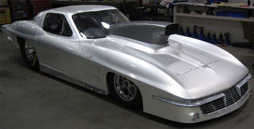1963 Chevy Corvette, Fiberglass