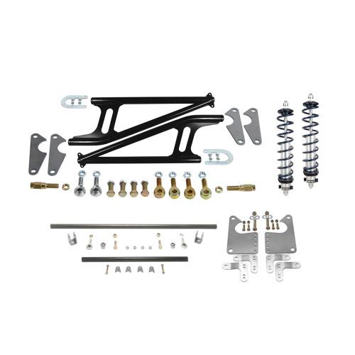 QM Pro 4130 Double Adjustable Ladder Bar Suspension Package