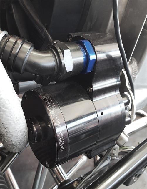 Meziere Radiator Mount Water Pump - Single Outlet