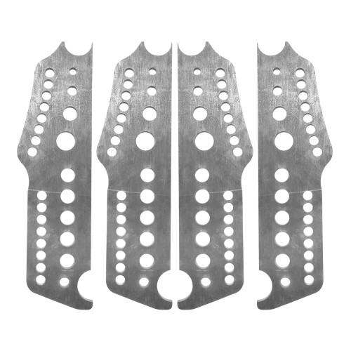 Extreme Pro Series 4-Link Chassis Brackets, 4130