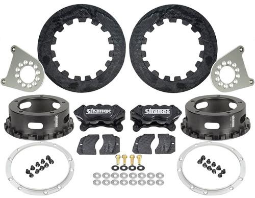 "Strange Engineering C1200WC Carbon Rear Brake Kit for Strange 2012 & Earlier Floater Kits, 5-1/2"" BC"