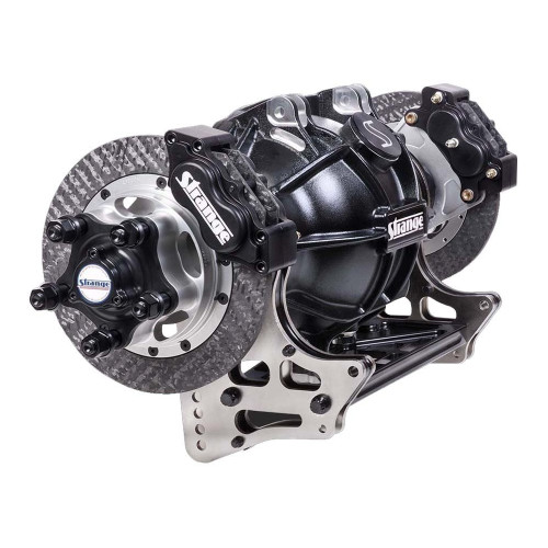 Strange Engineering H1180 Pro Mod Aluminum Housing with Carbon Brakes. Note: 4-Link Brackets sold separately.